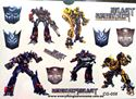 Picture of New Transformers Temporary Tattoo