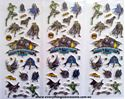 Picture of Mixed Design New Batman Puffy Stickers