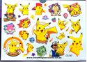 Picture of Pokemon Pikachu Temporary Tattoo