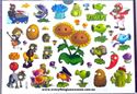 Picture of Plants Vs Zombies Temporary Tattoo