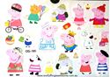 Picture of Peppa Pig CG-185 Temporary Tattoo