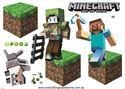 Picture of New Minecraft Wall Decal Sticker # 8