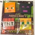 Picture of New 4 pcs  Minecraft Pins Badges #6